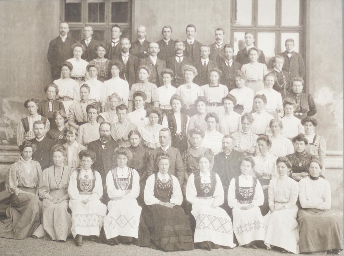 Husflidskurs ca 1900