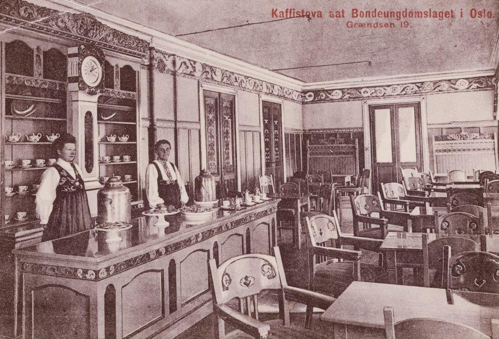 Kaffistova i Grensen
