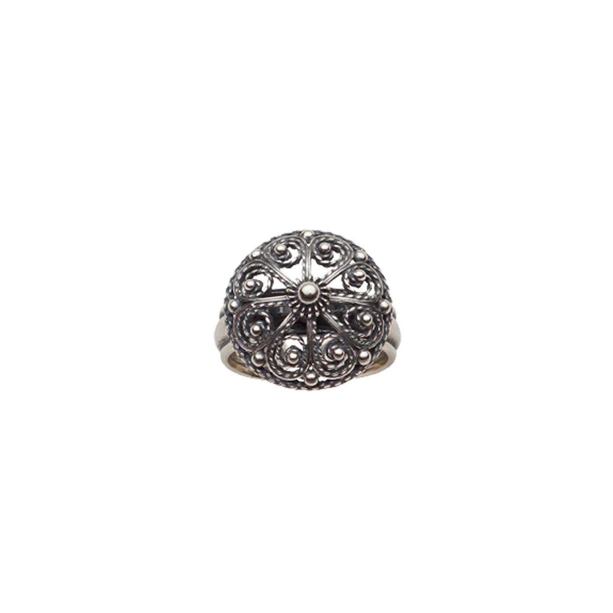358100 - Ring, oksidert
