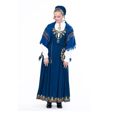 Romerike L40 damebunad Heimen Husfliden