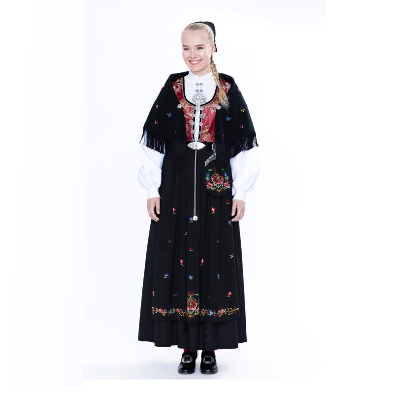 Damebunad fra Rogaland Jelsa