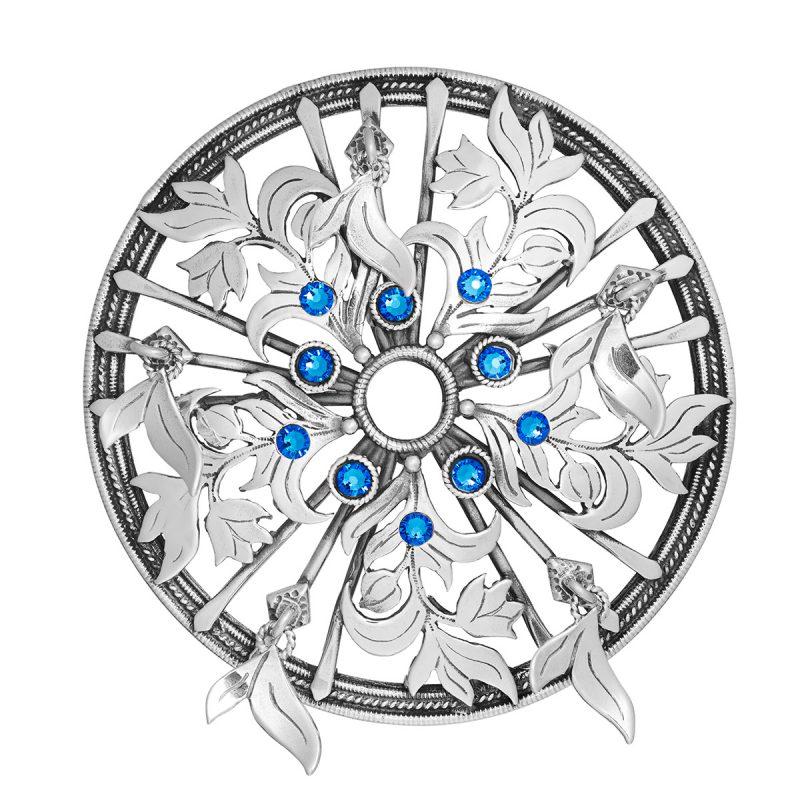 HUL 20015-2 - Stor sølje til Jubileumsdrakten, blå